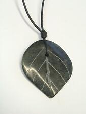 Ciondolo in GIADA naturale verde (radice del cristallo) - pendente pietra dura
