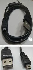 Panasonic DMC-LX2EBK cámara USB Data Sync/Cable de transferencia Plomo Para PC/Mac