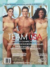 VOGUE US June 2012 Team USA America's Olympic Hopefuls Mode Fashion Look