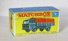 Repro Box Matchbox 1:75 Nr.01 Mercedes Truck