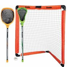 Franklin Sports Youth Lacrosse Goal and Stick Set W
