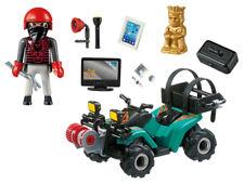 Playmobil 6879 Ganoven-Quad mit Seilwinde Spielzeug