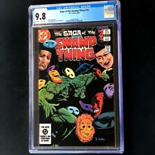Saga of Swamp Thing #16 (DC 1983) 💥 CGC 9.8 💥 HIGHEST GRADED: 1 of 6! Comic