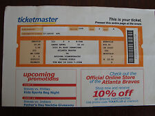 Randy Johnson Perfect Game TicketMaster Ticket; Game Day Program; ESPN Report