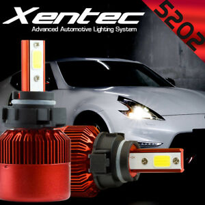 XENTEC LED 6000K Foglight kit 5202 12086 H16 2010-2016 Chrysler Town & Country