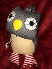 Franck Fischer Musical Owl Grey 17cm Beanie Soft Toy Rare