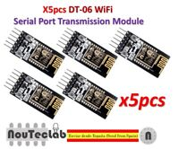 5pcs DT-06 Wireless WiFi Serial Port TTL-WiFi Transmission Module HC-06 ESP-M2