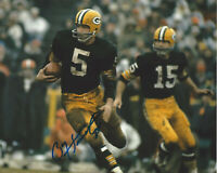 PAUL HORNUNG GREEN BAY PACKERS LEGEND SIGNED AUTHENTIC 8x10 PHOTO HOF B w/COA