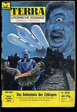 Terra-- Utopische Romane -- Science Fiction -- Band 515 -- Romanheft -- Moewig-