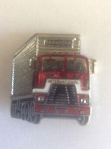 Enamel Badge Pin Advertising Transtar International Haulage Trucks Transport HGV