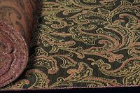 "Circa 1801 Jacquard Woven 100% Cotton Heavy Fabric 56"" Upholstery Soft JB Martin"