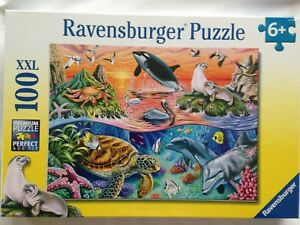 Brand New Ravensburger 100XXL Large Piece Jigsaw Puzzle - BEAUTIFUL OCEAN