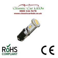 Verde 2X BA7S LLB281 LED Bombilla de conmutador de reloj de calibre del tablero de instrumentos coche clásico GLB 281