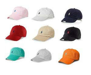 Polo Ralph Lauren Classic Men's Hat Chino Cotton One Size Sports Cap