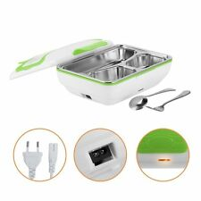 Stainless Steel Portable Electric Lunch Box Food Heater with Removable Container
