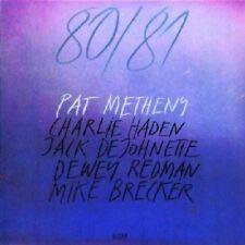Pat Metheny - 80/81 (feat. Charlie Haden/+) 2 CD 8 tracks jazz-rock FUSION NUOVO