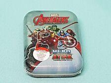 Topps Marvel Avengers Hero Attax Mini Tin Box + Limited Edition