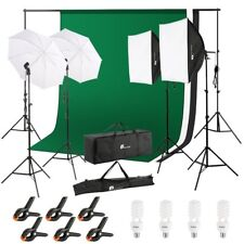 Kit de Luz para Fotografia luz para fotos pantalla verde chromakey
