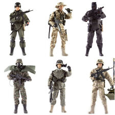 "World Peacekeeper Action Toy Soldier Figure & Accessories 12"" SAS MARINE EOD"