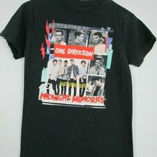 One Direction Midnight Memories Black T-shirt Unisex All Size Reprint M1177