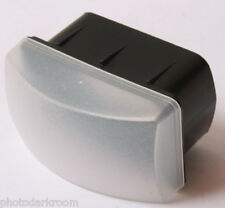 """Flash Diffuser Attachment - Approx. 1 7/8"""" x 3"""" Opening - Harbor - USED D83"""