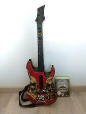 Guitarra Guitar Hero Metallica Xbox 360 + Juego