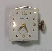 Hamilton Ladies Watch Movement 22 Jewels Cal 761 Parts or Repair