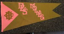 Vintage 1900's University of Iowa Baseball Club Felt Pennant