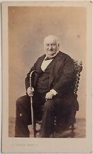 A. ROYER Photographe à Bayeux Carte de visite Cdv Vintage Albumine c1865