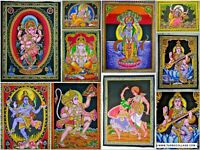 Hindu God Wall Tapestry God Lord Religious Room Sequence Poster Decor Indian Art