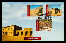 2007 ARCHAEOLOGY PRE COLUMBIAN INCA TEMPLE ARCHITECTURE PERU FDC cover