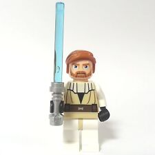 LEGO STAR WARS Figur Obi-Wan Kenobi sw197 aus 7753 7676 7931 inkl. Laserschwert