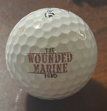 The Wounded Marine Fund Logo Golf Ball