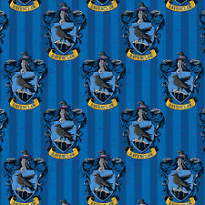 Camelot Fabric Harry Potter Ravenclaw House PER METRE Digitally Printed Licensed