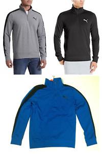 Puma Men's stretchlite 1/2 Zip Fleece Jacket,