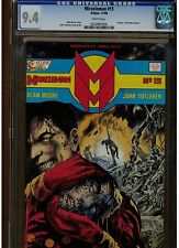 MIRACLEMAN #15 CGC 9.4 DEATH OF KID MIRACLEMAN 1988 ALAN MOORE ECLIPSE COMICS