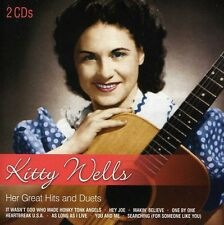 Her Great Hits& Duets - Kitty Wells (2013, CD NIEUW)