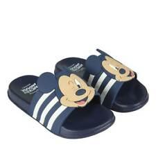 ✅ Chanclas Disney de MiCKEY Mouse en Azul y blanco 🐁 Cholas de agua piscina