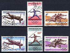 Congo (Zaïre) - 1964 Olympic games Tokyo  - Mi. 169-74 FU