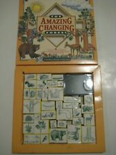 Rare Vintage Nature Company The Amazing Changing Forest Rubber Stamp Collection