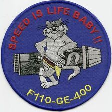 "F-14 Tomcat ""Speed is Life Baby!"" patch"