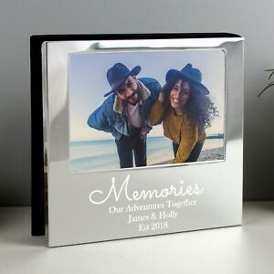 Personalised Memories 6x4 Photo Frame Album 18th 21st 60th Birthday Holiday Gift