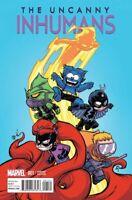 Uncanny Inhumans #1 Young Var (Young Var) Marvel Comics Comic Book