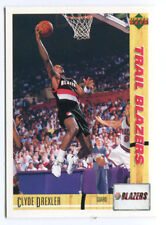 1993 Upper Deck French McDonald's #6 Clyde Drexler Blazers carte NBA Basketball