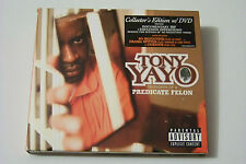 TONY YAYO - THOUGHTS OF A PREDICTAE FELON CD+DVD 2005 (COLLECTORS EDT) Eminem