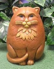 Md Fat Modern Chubby Kitty Cat Latex Fiberglass Production Mold Concrete Plaster