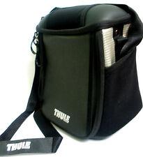 NEW THULE PACK 'N PEDAL HANDLEBAR BLACK BAG BIKE ACCESSORIES RAIN COVER 'n STRAP