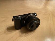 Sony Alpha a5000 20.1MP Digital Camera + 16GB Sandisk Extreme Pro memory card!