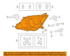 Scion TOYOTA OEM 11-12 tC-Headlight Head Light Headlamp 8117021200