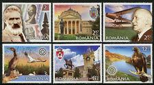 Romania 2019 MNH European Treasure 6v Set Birds Pelicans Landscapes Stamps